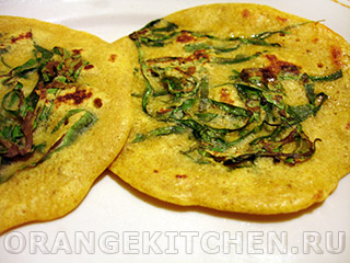 Вегетарианские рецепты с фото: безглютеновые лепешки из нутовой муки