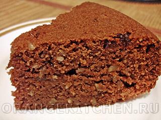 Вегетарианские рецепты с фото: постный шоколадный манник