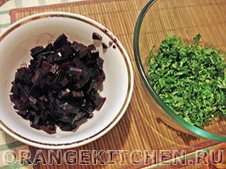 Вегетарианский салат с кус-кусом и тыквой: Фото 8