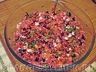 Вегетарианский салат с кус-кусом и тыквой: Фото 10