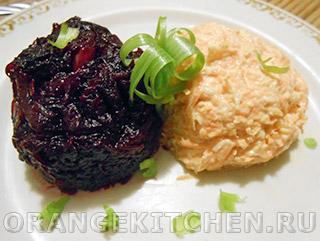 простые салаты из свеклы рецепты с фото