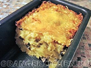 Вегетарианские рецепты с фото: запеканка из картофельного пюре