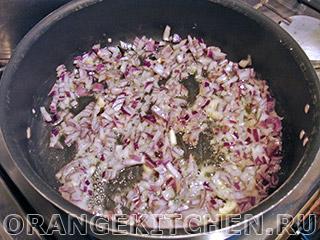 Вегетарианская тушеная краснокочанная капуста: Фото 2