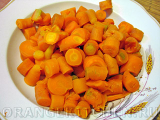 Постная морковная запеканка: Фото 1