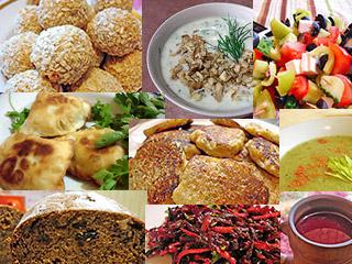 Каталог вегетарианских рецептов