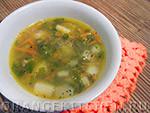 Вегетарианский рецепт постного овощного супа с маком