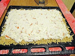 Вегетарианский тертый пирог с творогом: Фото 5