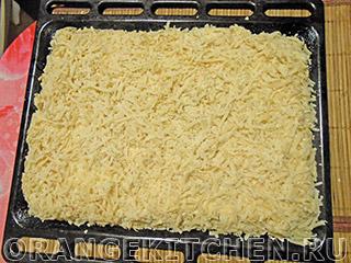 Вегетарианский тертый пирог с творогом: Фото 9
