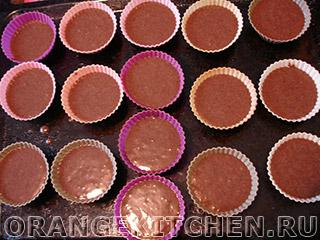 Постные шоколадные маффины без яиц: Фото 4