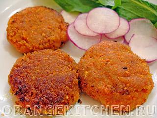 Вегетарианские рецепты с фото: классические морковные котлеты