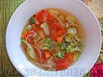 Вегетарианский рецепт постного супа с брокколи