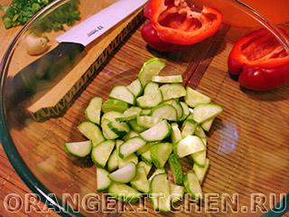 Вегетарианский салат с баклажанами: Фото 3