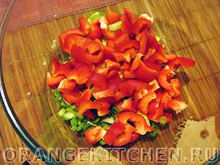 Вегетарианский салат с баклажанами: Фото 5