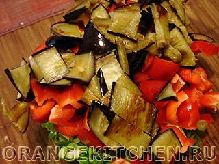 Вегетарианский салат с баклажанами: Фото 6