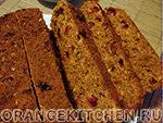 Вегетарианский рецепт хлеба с клюквой