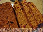 Как испечь хлеб с клюквой
