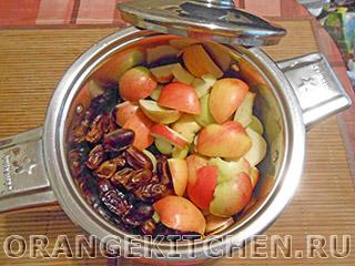 Яблочный кисель без сахара: Фото 1