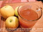 Вегетарианский рецепт яблочного киселя без сахара