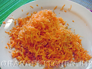 Морковные оладьи на кефире без яиц: Фото 1