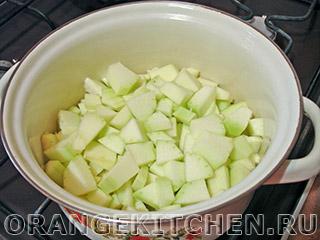 Вегетарианский суп из кабачков и томатов: Фото 1
