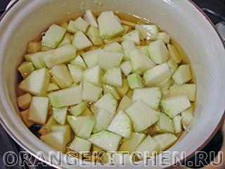 Вегетарианский суп из кабачков и томатов: Фото 2