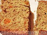 Вегетарианский рецепт бисквита на аквафабе с сухофруктами