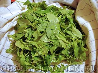 Салат с зеленой гречкой и рукколой: Фото 2