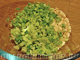Салат с зеленой гречкой и рукколой: Фото 5