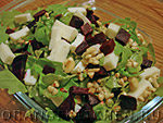 Вегетарианский рецепт салата с зеленой гречкой