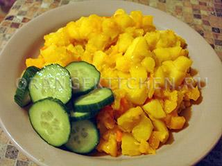 Овощное рагу для кормящих мам