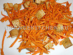 Вегетарианский рецепт салата из тофу с морковью