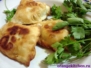 Самоса (индийские пирожки с овощами)