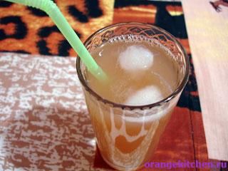Жгучий грейпфрутовый напиток с имбирем