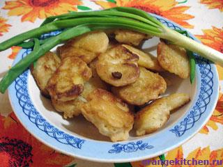 Картофельные наггетсы в пивном кляре