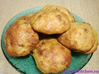 Соленые тыквенные булочки