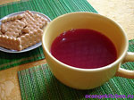 Вегетарианский рецепт киселя из замороженных ягод
