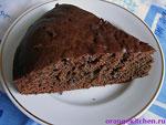 постный рецепт шоколадной коврижки