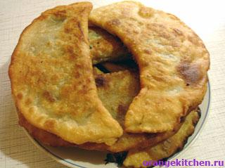 Кутабы – жареные пирожки с зеленью