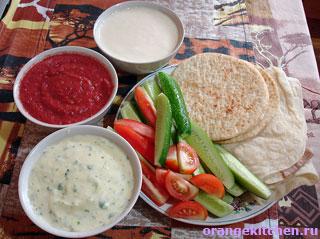 Вегетарианские соусы или очень простая летняя еда