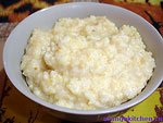 Вегетарианская рисовая каша с тыквой