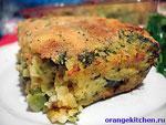Вегетарианский рецепт запеканки с брокколи