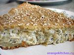Вегетарианский рецепт сырного пирога