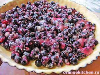 Веганский пирог со смородиной — photo 7