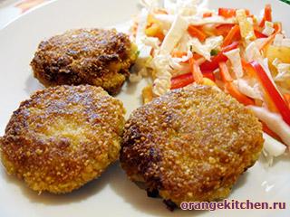 Вегетарианские рецепты с фото: овсяные котлеты