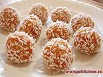 Вегетарианский рецепт сладких морковных шариков