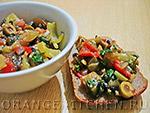 Вегетарианский рецепт капонаты из баклажанов