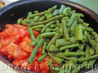 Лобио зеленое из стручковой фасоли, пошаговый рецепт с фото