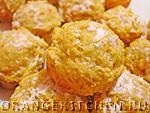 Вегетарианский рецепт постного апельсинового печенья