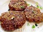 Вегетарианский рецепт постных оладий из кабачков