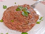 Вегетарианский рецепт постного блюда из красной фасоли